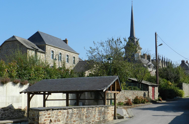 Vue Gennes-sur-seiche