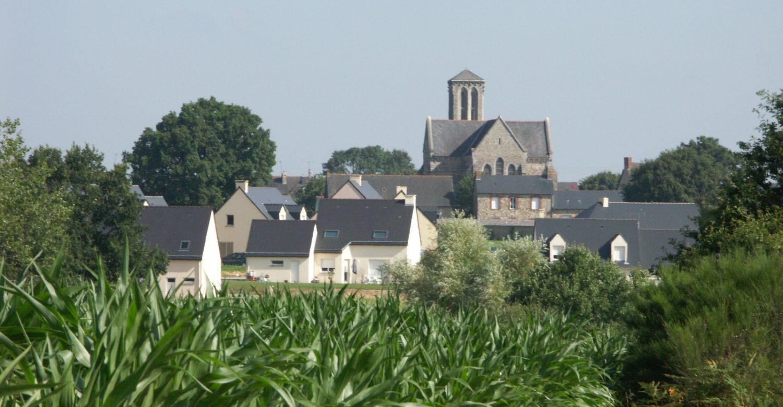 Vue Saint Christophe des Bois