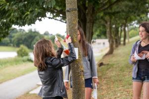 Course d'orientation à la base de loisirs de la Haute-Vilaine