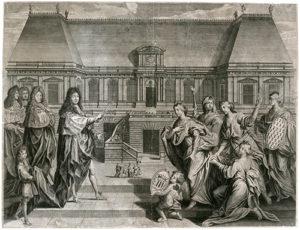 Retour du Parlement Rennes 1690