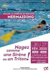 Affiche Mermaiding février