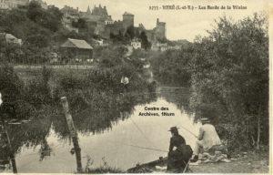 Pêche sur les bords de Vilaine