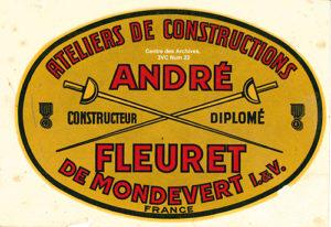 Logo entreprise Fleuret