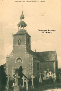 Eglise de Mondevert