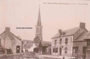 Saint-Aubin-Des-Landes - Vue du Bourg