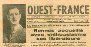 Libération Bretagne - Ouest France