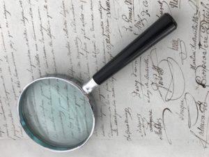 Document pour la paléographie