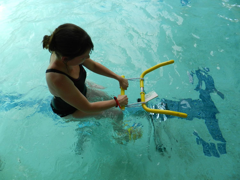Aquabike à la La Guerche-de-Bretagne