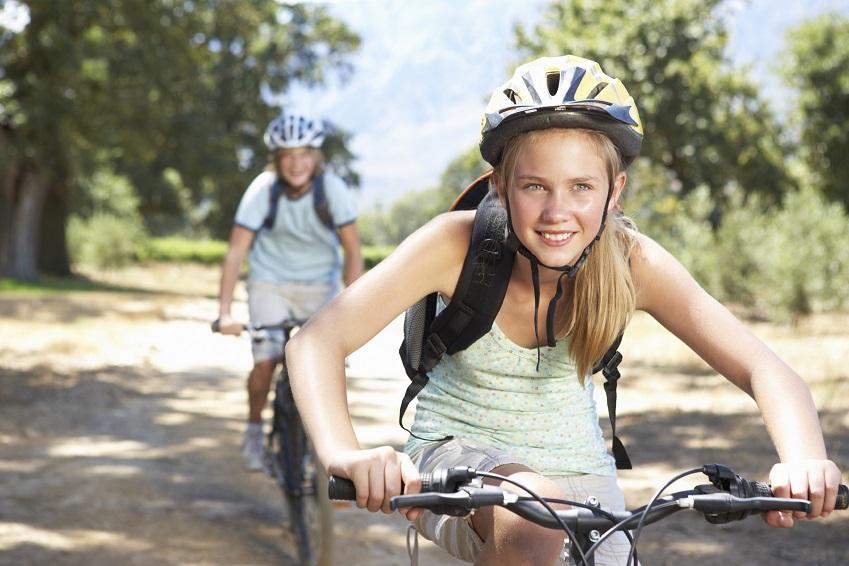 Promenade à vélo sur voie verte