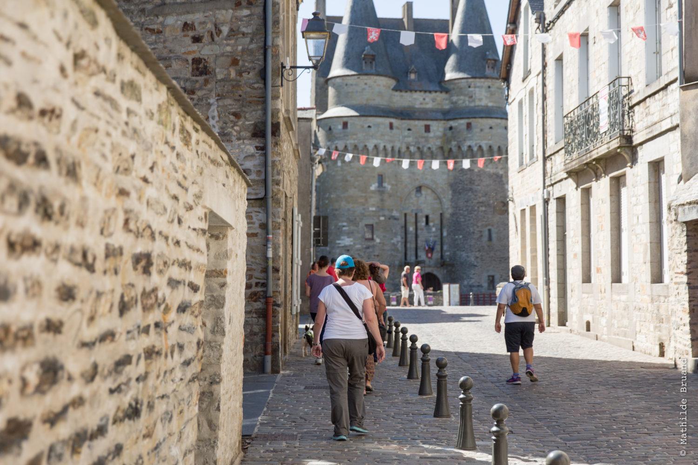 Vue château de Vitré - Mathilde Bruand