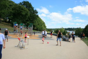 Aire de jeux pour enfants - Base de Haute-Vilaine
