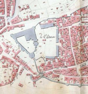Archives de Vitré_1 G1_Extrait du Cadastre napoléonien 1811