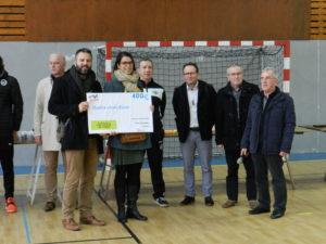 """Tournoi Noël 2017 pour l'association """"Sur les pas de Soren"""""""