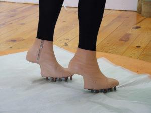 Outil chaussure pour Dominique de Beir