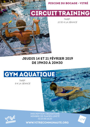 Circuit Training-Gym aquatique Février 19
