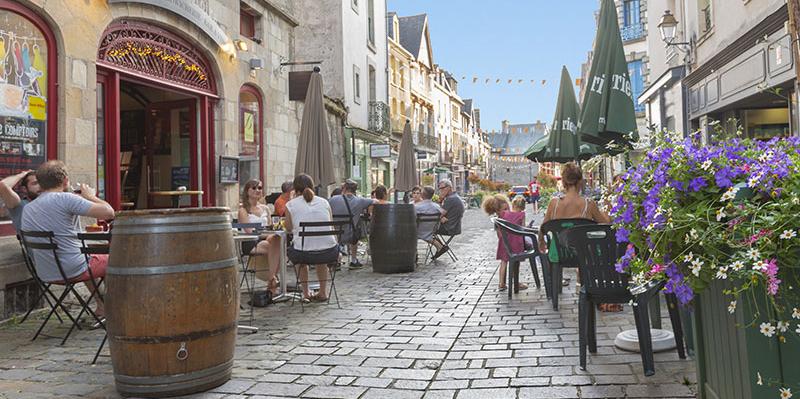 rue Poterie - centre de Vitré