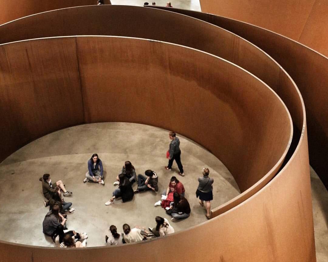 2. Richard Serra,The Matter of Time, torqued Spirals, 1994-2003, Fondation Guggenheim à Bilbao