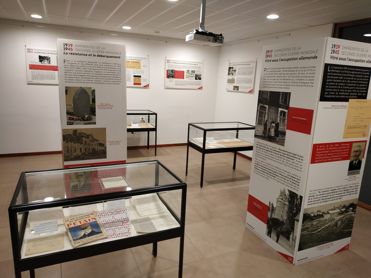 Exposition Seconde Guerre Mondiale – Archives